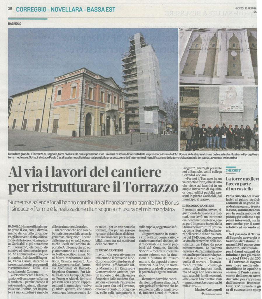 Torre del Torrazzo - Bagnolo in Piano