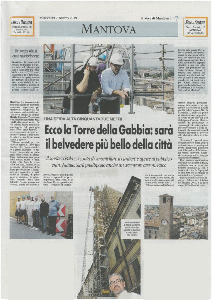 Torre della Gabbia - Mantova