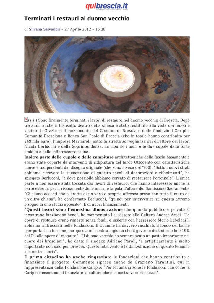 Duomo Vecchio - Brescia