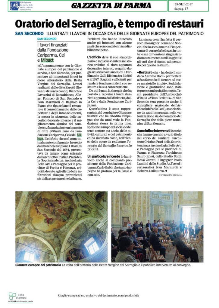 Oratorio del Serraglio - Parma